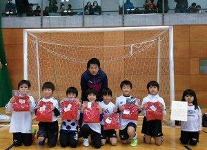 第28回東京ドーム杯フットサル大会 U-8優勝
